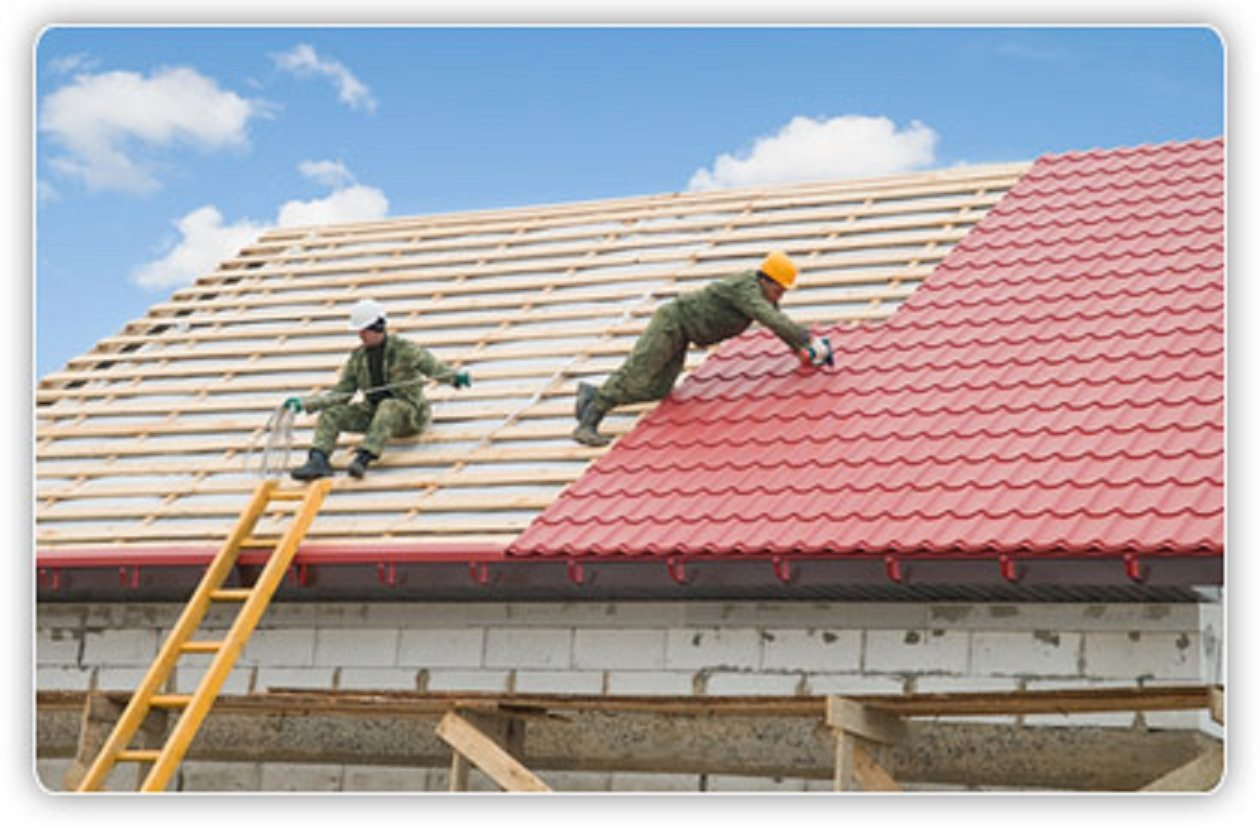 The three main steps which involve roof painting in roof restoration task
