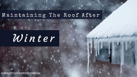 5 Tips On Maintaining The Roof After Winter