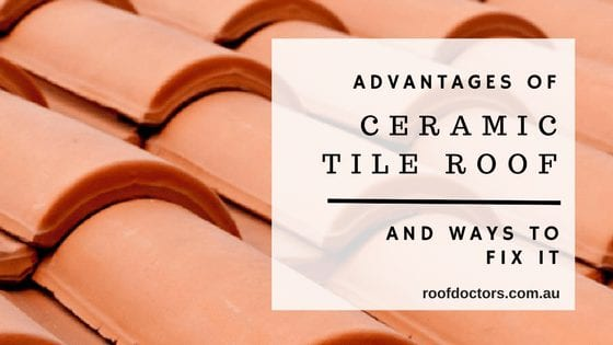The Advantages Of Ceramic Tile Roof And Ways To Fix It