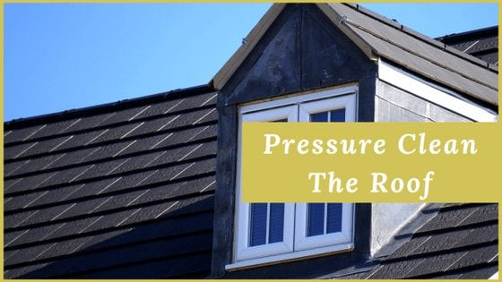Why Is Important To Pressure Clean The Roof?