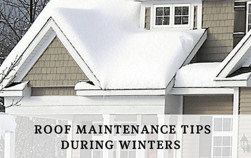 The Expert Recommended Roof Maintenance Tips To Be Followed During Winters