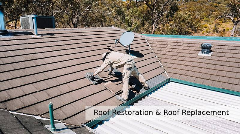 Difference Between Roof Restoration and Roof Replacement