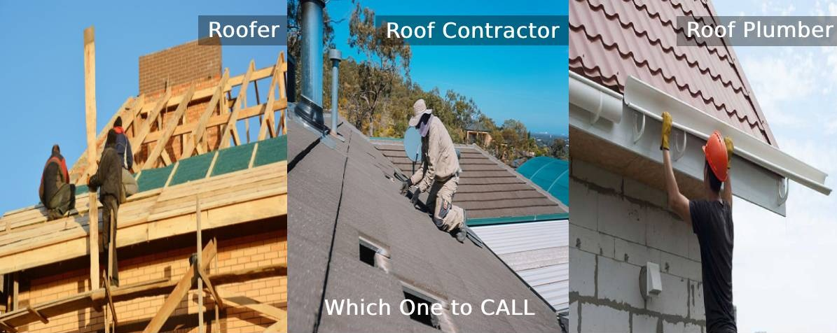 Roofer vs Roof Contractor vs Roof Plumber: Which One to Call?